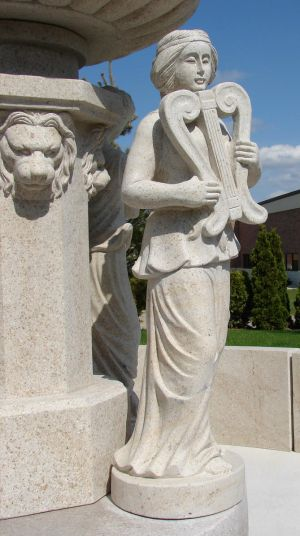 Muse of Music Statue 1