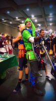 Link and Impa Sacanime by narutokunobessed