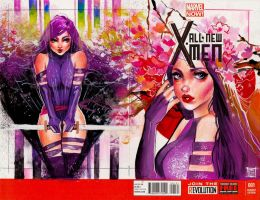 Commission: Psylocke2 by rianbowart