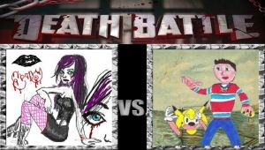 Death Battle: Ebony Darkness vs Chris-Chan by MadnessAbe