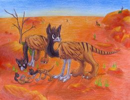 Purithyan land griffins by ScurvySimon