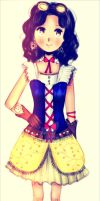 Steampunk Snow white by kioler