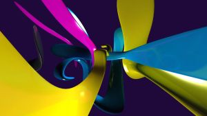 CMYK Wallpaper by tople