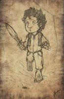 Bilbo Baggins by troubadour93