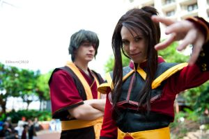 Agni Kai by BlankoCosplay