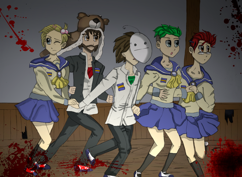 Youtubers Corpse Party Marathon by Ccjay25
