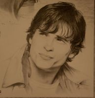 Tom Welling-close up by DavidDeb