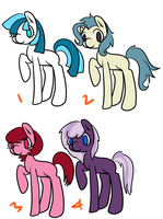 Left over Pony Adoptable sale by Anna-Adoptable