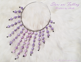 Necklace - Stars are Falling by A-B-elle