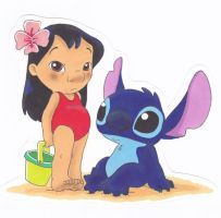 Lilo and Stitch by AzumiAngel