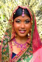 Indian Bride by artistry-and-imagery