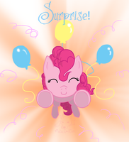 Surprise Glomp by mischakins