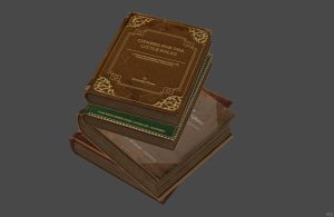 'Bioshock: Infinite' Book Stack 2.0 XPS ONLY!!! by lezisell