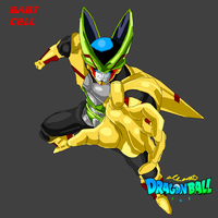 Dragon Ball tsne - Baby Cell by elfianmetal