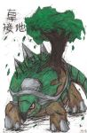 Torterra Drawing (Request) by LizChwan