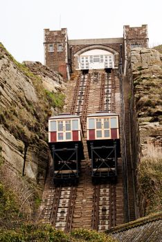 East Hill Funicular Railway 1 by wintersmagicstock