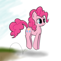 Quick ATG2 Day 2 - Pinkie being Pinkie by Muffinsforever