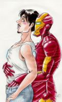 Iron Man CRACK by Mistress-D