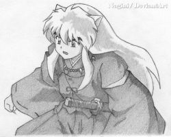 Inu Yasha Sketch by oONaginiOo
