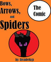 Bows, Arrows, and Spiders Comic Cover by Danny-Senpai