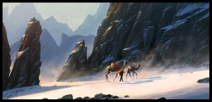 The Journey by Raphael-Lacoste