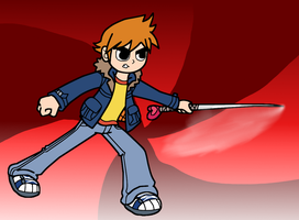 Scott Pilgrim by SmashToons