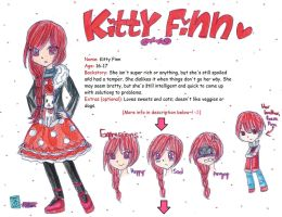 OC: Kitty Finn: BIO by kuku88