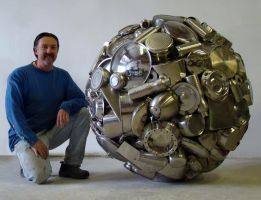 Stainless Steel Sphere by livesteel