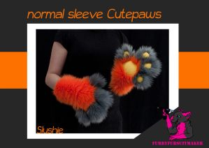 Normal sleeve Cutepaws - Slushie by FurryFursuitMaker