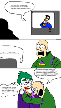Superman doesn't care anymore by Scurvypiratehog
