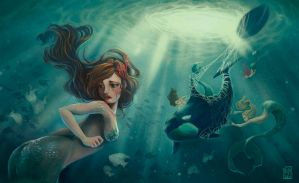 Helping Sirens by AliciaDeAndres