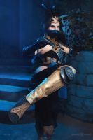 Princess Kitana - Mortal Kombat X by Anastasya01