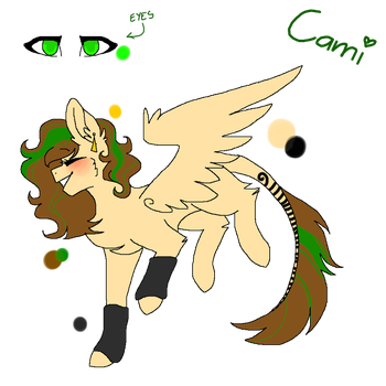 Cami ( NEW MAIN OC!) by ShadowStarDraws
