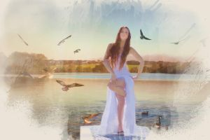 Water Angel by DaveJones-Photograpy