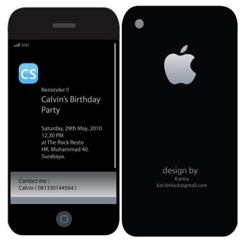 Calvin's Bday Invitation by dieary