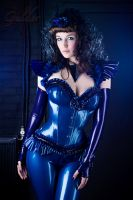 Latex corset 02 by GuldorPhotography