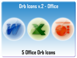 Orb Icons v.2 - Office by AndrewBadger