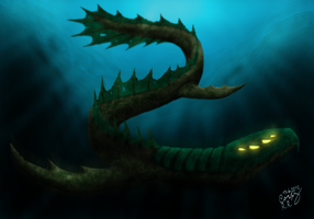 Leviathan by CorpyDragon