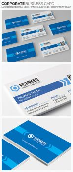 Corporate Business Card - RA75 by respinarte