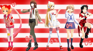 [MMD DL] Random Pose Pack 1 by Kodokuna-Ran