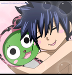 Gray and Frosch: Fairy Tail 435 by KarenAlvizo