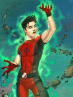 Hellion - Colored by JamieFayX