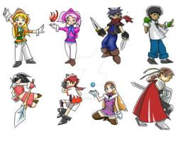 What if RPG - Battlers by Seishounohana