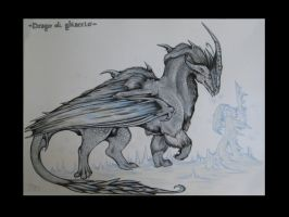 Ice dragon 2 by EleEstel