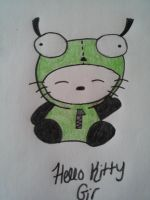 Hello Kitty Girl In Color by ForeverResa
