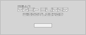 Dash Slider WidgetLocker. by kgill77
