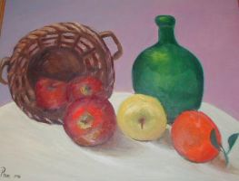 Basket Still Life by aphon