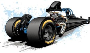 Dragster 10112011 by Bmart333