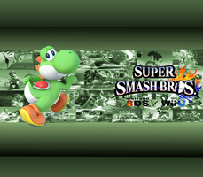 Yoshi Wallpaper by CrossoverGamer