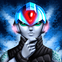 Fusion X behind the mask by samusmmx